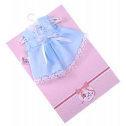 Niebieska sukienka ASI 3114650