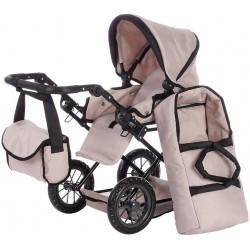 Beżowy wózek dla lalek Ruby...