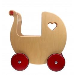 Drewniany wózek dla lalki...