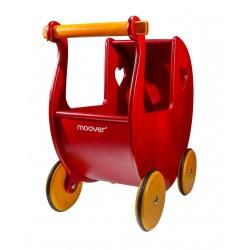 Czerwony wózek dla lalki...