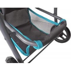 Szary wózek dla lalek Liba...