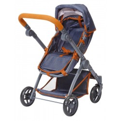 Jeansowy wózek dla lalek...