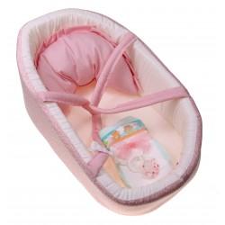 Różowe nosidełko dla lalki...